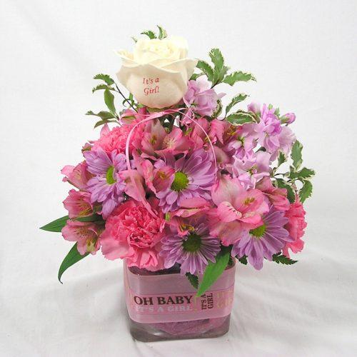WW-397 It's a Girl Bouquet